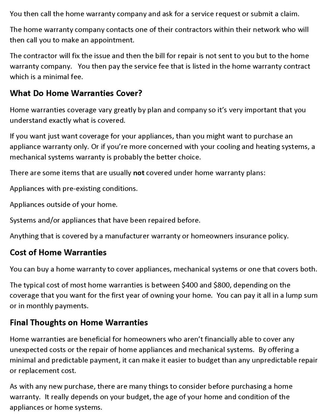 costOfHomeWarranties